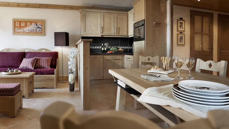 Chalet Belles Pistes - 3-kamer appartement 6 personen