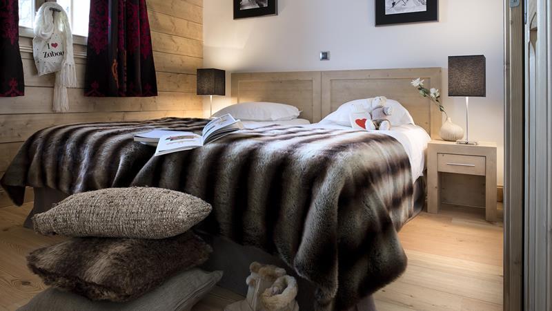 3 slaapkamers hutten voor 6 personen