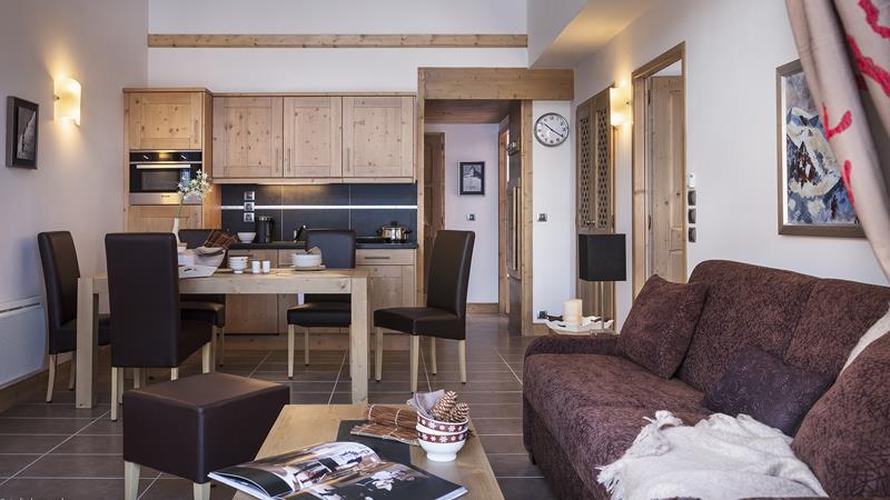 4-kamer appartement cabine 8 personen