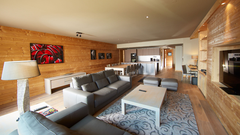 6-kamer appartement duplex 10 personen Deluxe Contemporain