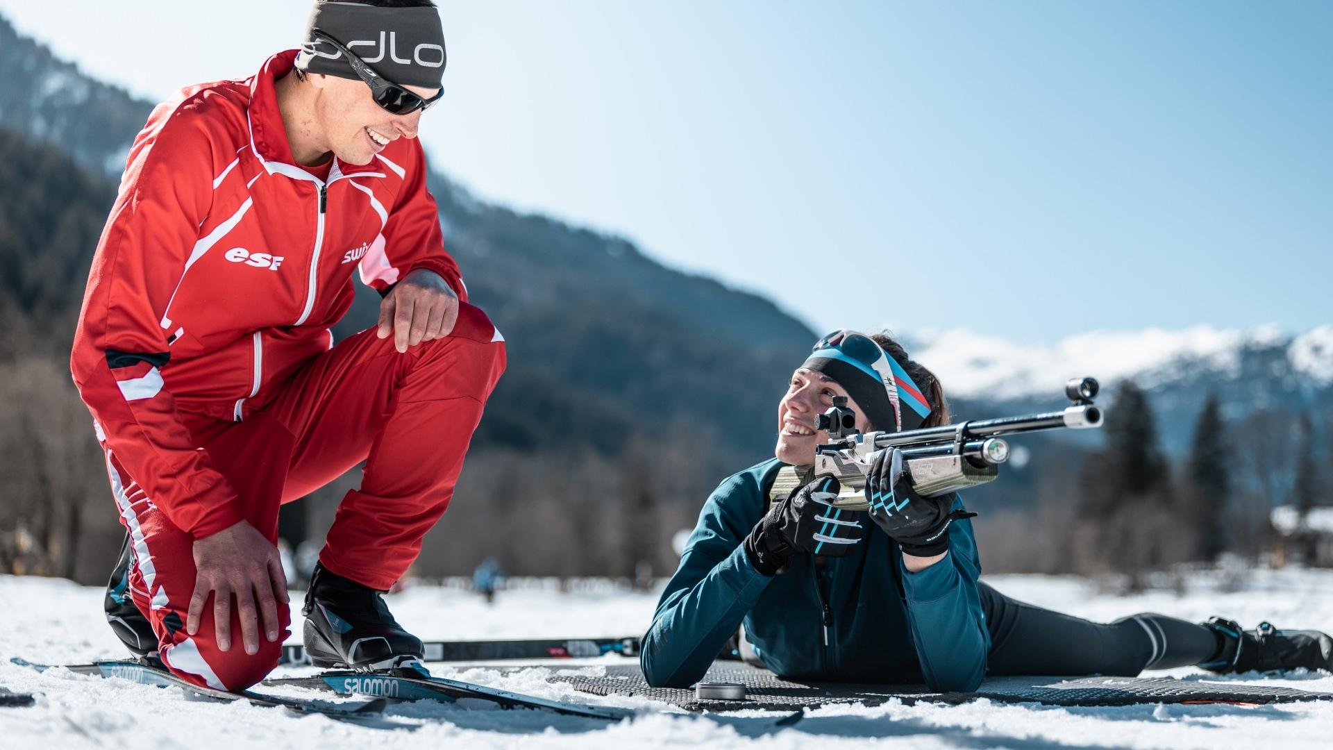 Biathlon Challenge : shooting competition - CGH Résidences