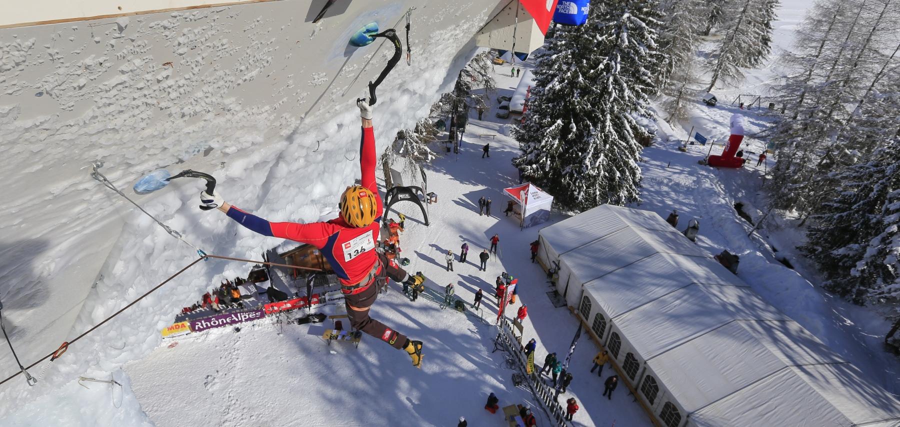 The ice climbing world cup - CGH Résidences