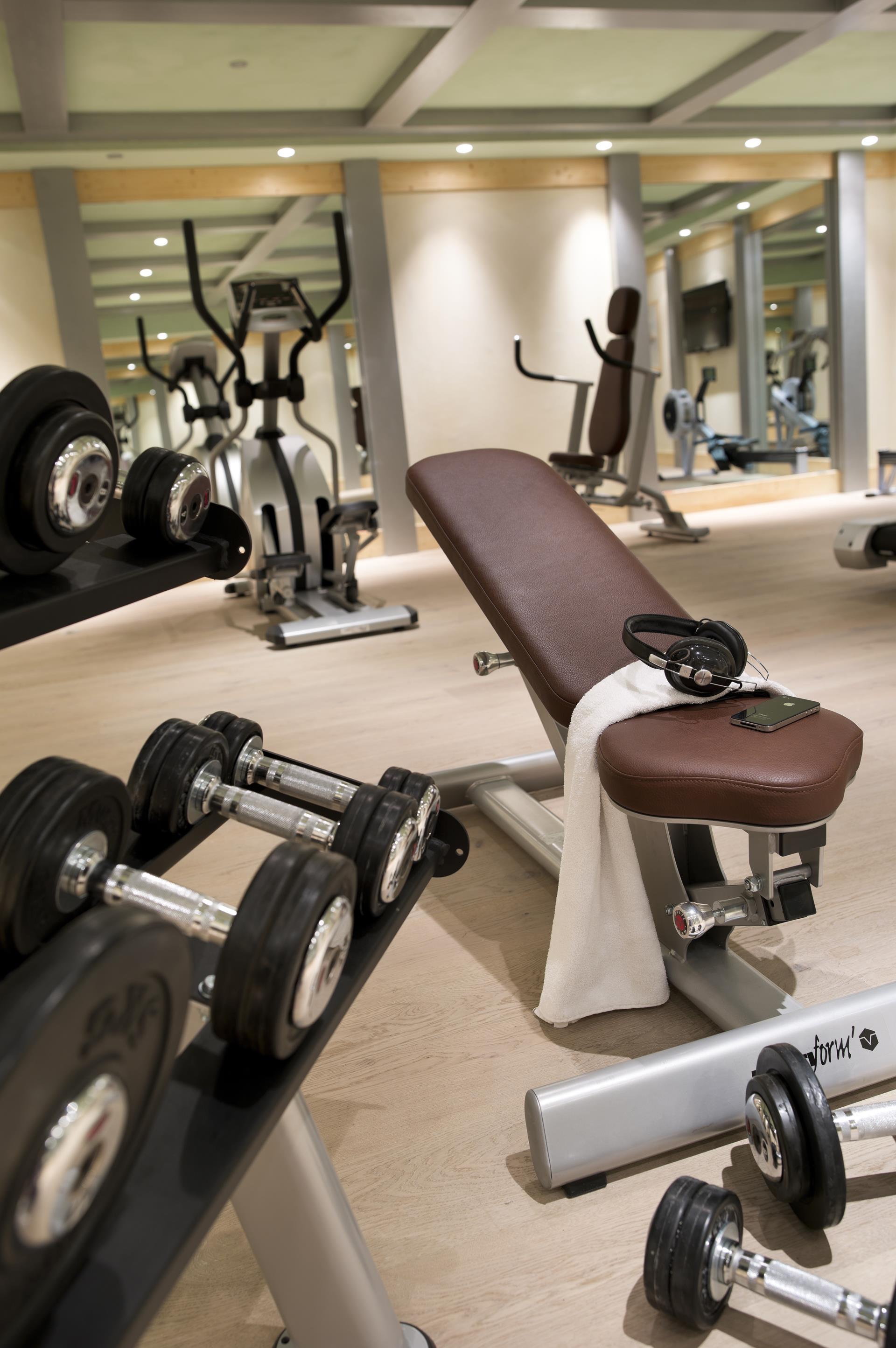 Salle Cardio-training, Le Lodge des Neiges - CGH Résidences