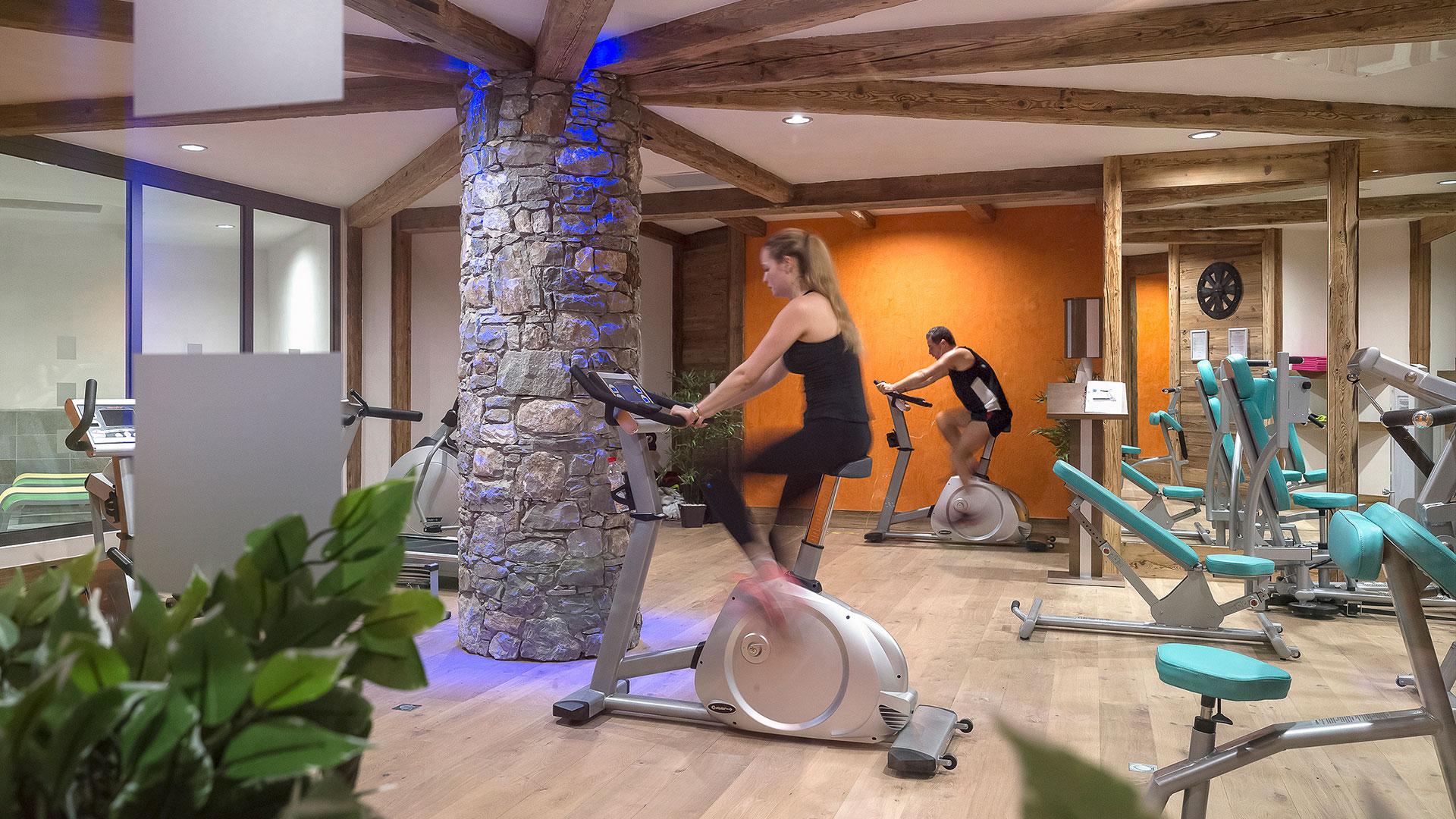 Salle de cardio-training, Les Chalets de Flambeau - CGH Résidences