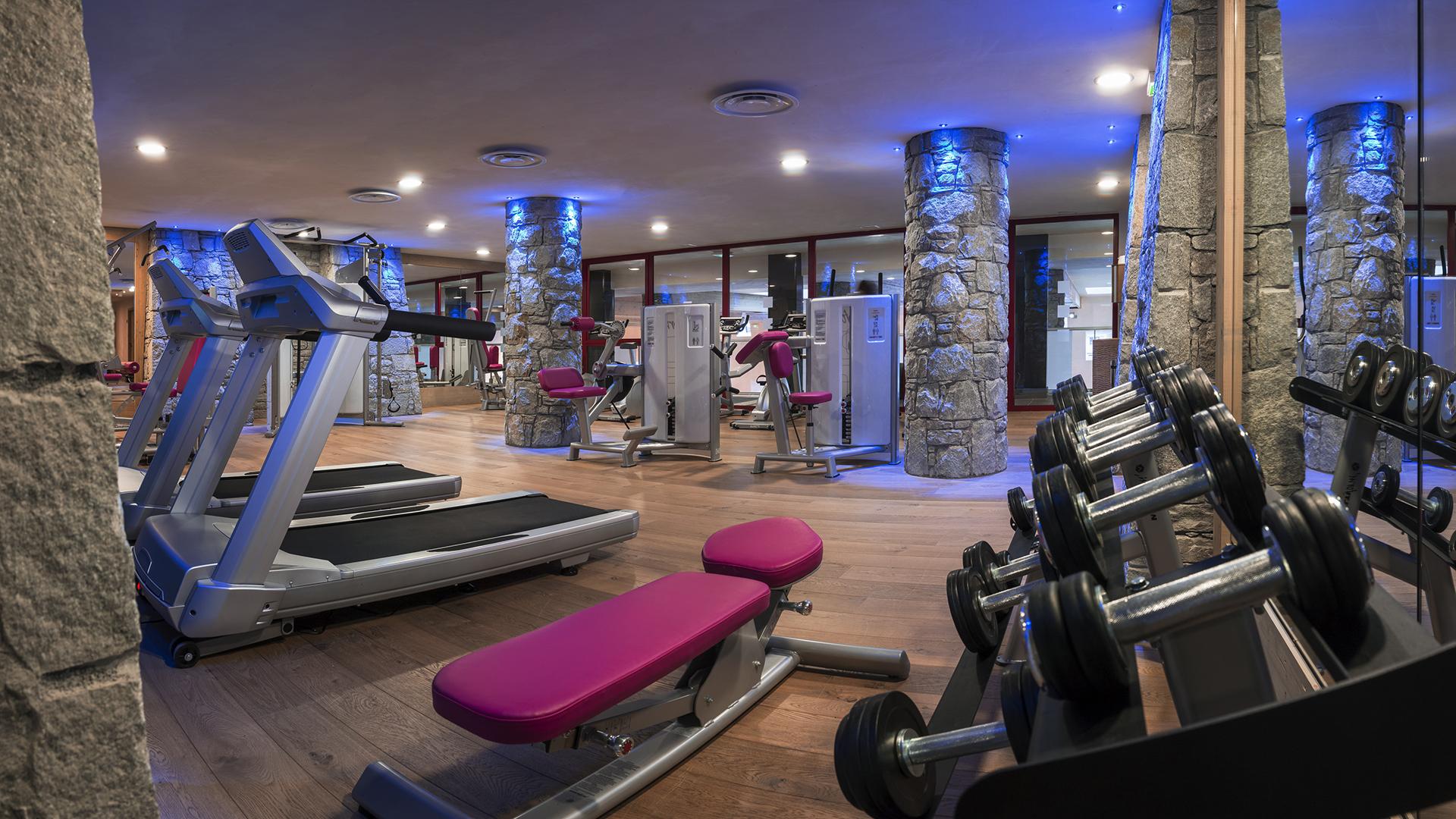 Salle Cardio-training, Le Centaure - CGH Résidences