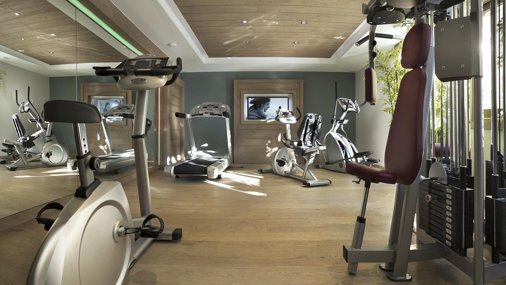 Salle Cardio-training, Le Chalet des Dolines - CGH Résidences