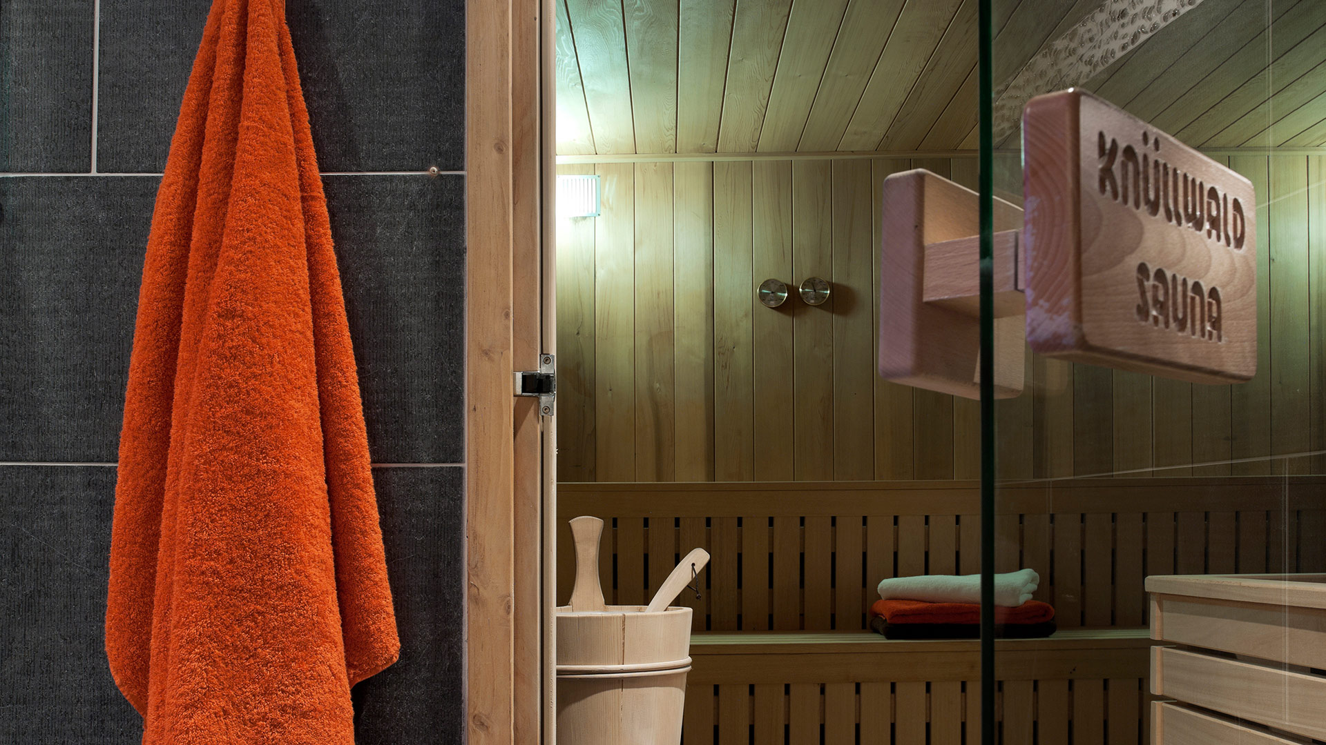 Sauna, Les Chalets de Jouvence - CGH Résidences
