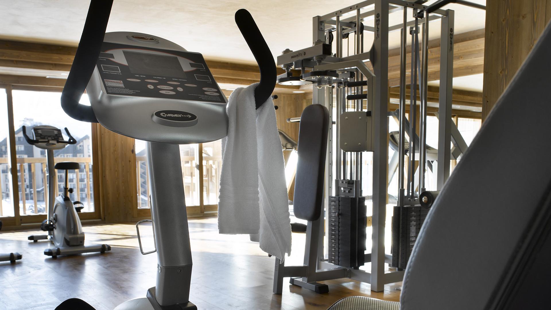 Salle de cardio training, Les Clarines - CGH Résidences