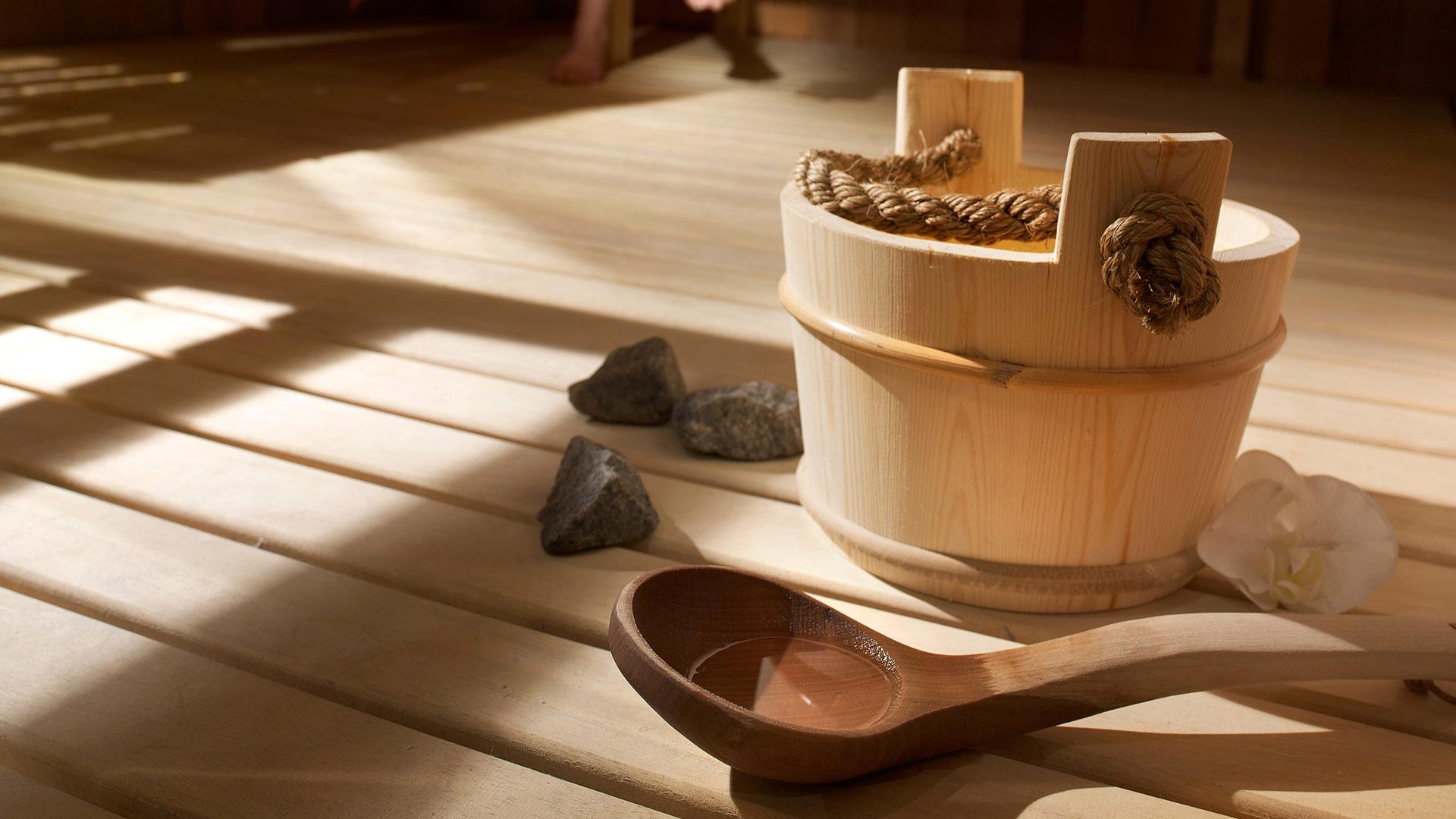 Sauna, Les Granges du Soleil - CGH Résidences