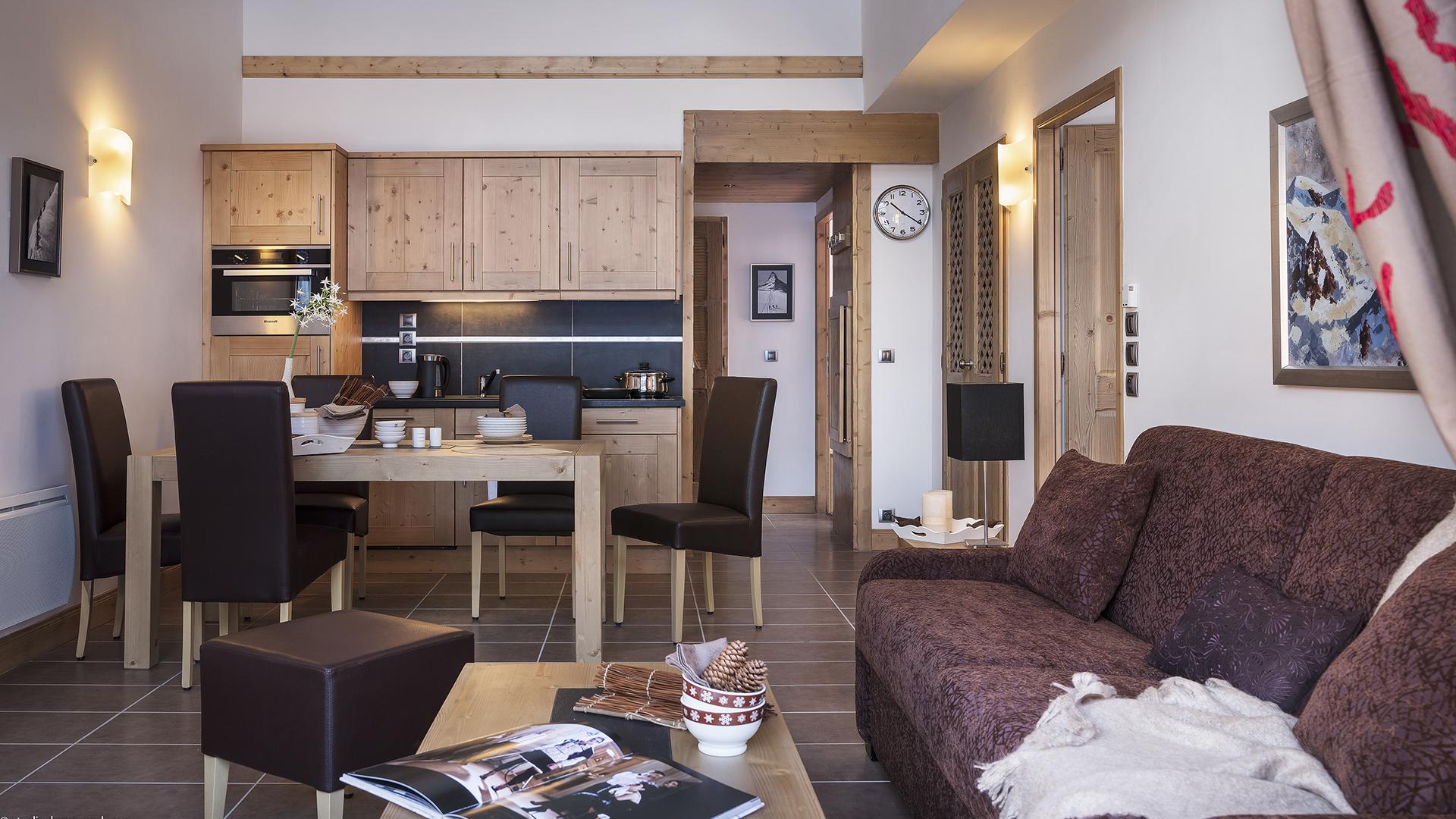 Appartement, Les Chalets de Léana - CGH Résidences