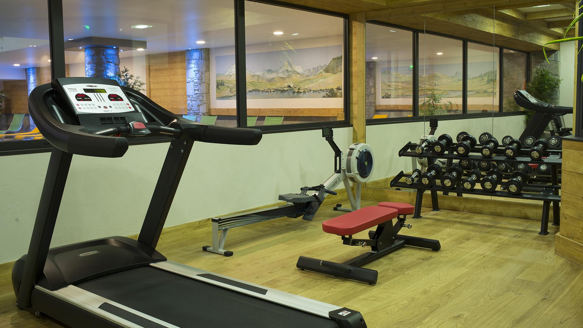 Salle Cardio Training, Le Napoléon - CGH Résidences