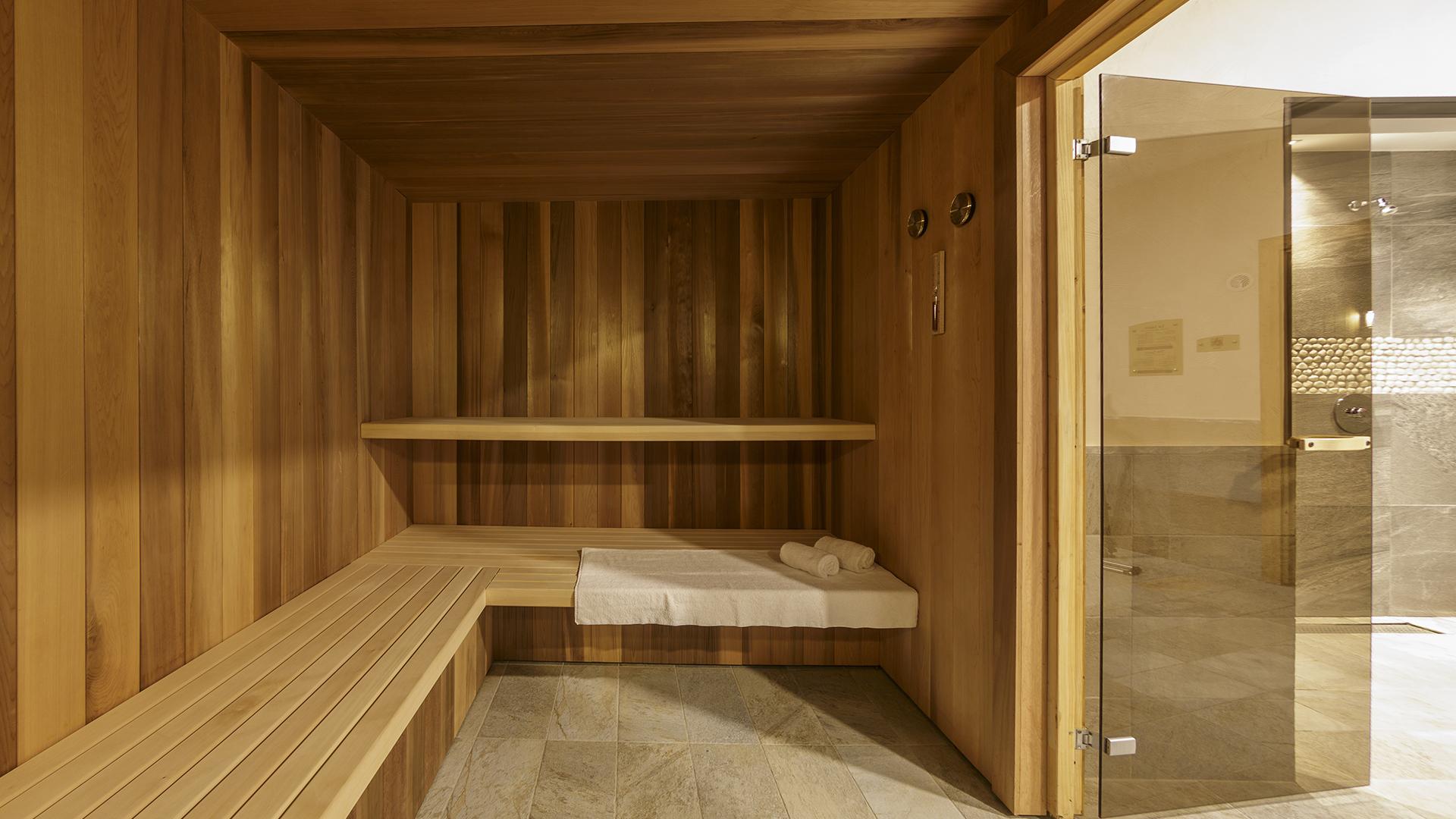 Sauna, Le Napoléon - CGH Résidences