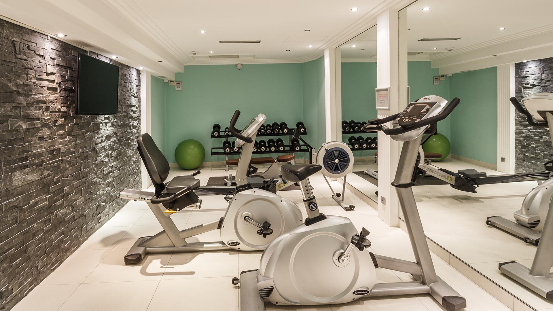 Salle de sport, La Villa Romana - CGH Résidences